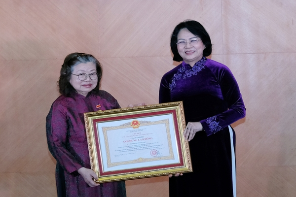 Vaccine researcher was awarded the title of Labor Hero