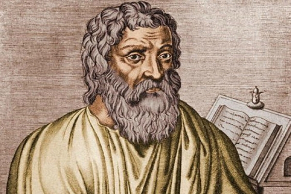 The world's first doctor and oath to Hippocrates